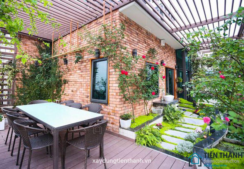 ban cong xanh khu vuon 10 - #35 Kiểu ban công xanh [ĐẸP] ở chung cư, nhà ở năm 2020