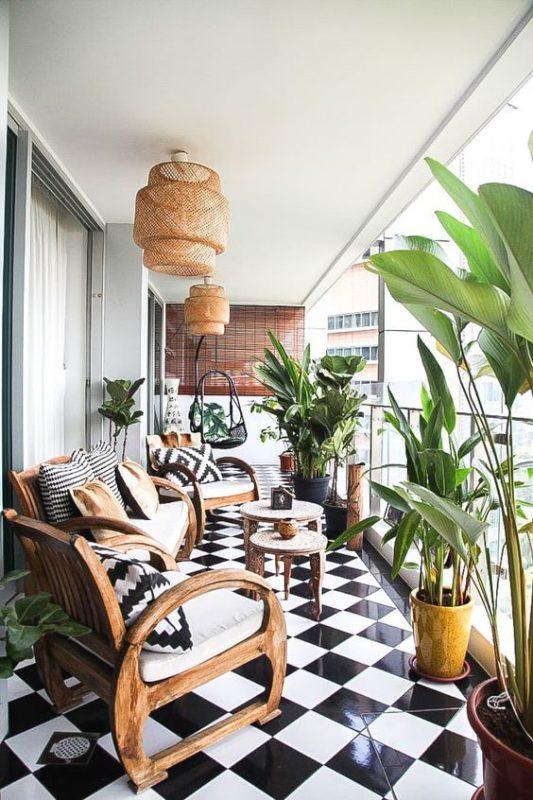 ban cong xanh phong khach 2 533x800 - #35 Kiểu ban công xanh [ĐẸP] ở chung cư, nhà ở năm 2020