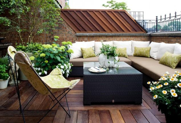 ban cong xanh phong khach 4 - #35 Kiểu ban công xanh [ĐẸP] ở chung cư, nhà ở năm 2020
