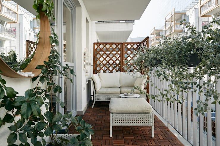 ban cong xanh thu gian 4 - #35 Kiểu ban công xanh [ĐẸP] ở chung cư, nhà ở năm 2020