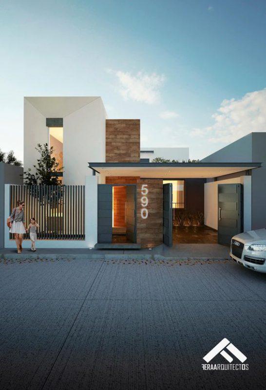 nha dep 2 tang biet thu 15 546x800 - #35 Mẫu nhà đẹp 2 tầng đẹp tuyển [chọn] ở TPHCM năm 2020