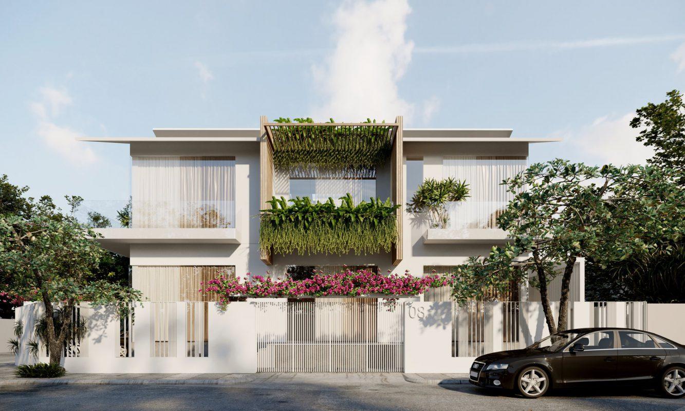nha dep 2 tang biet thu 9 1333x800 - #35 Mẫu nhà đẹp 2 tầng đẹp tuyển [chọn] ở TPHCM năm 2020