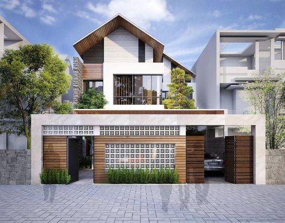 nha dep 2 tang mai thai 3 - #35 Mẫu nhà đẹp 2 tầng đẹp tuyển [chọn] ở TPHCM năm 2020