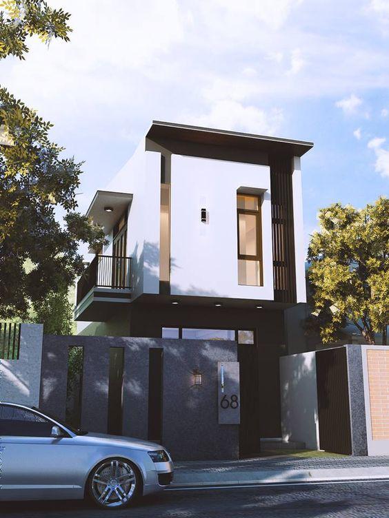 nha dep 2 tang nha ong 11 - #35 Mẫu nhà đẹp 2 tầng đẹp tuyển [chọn] ở TPHCM năm 2020