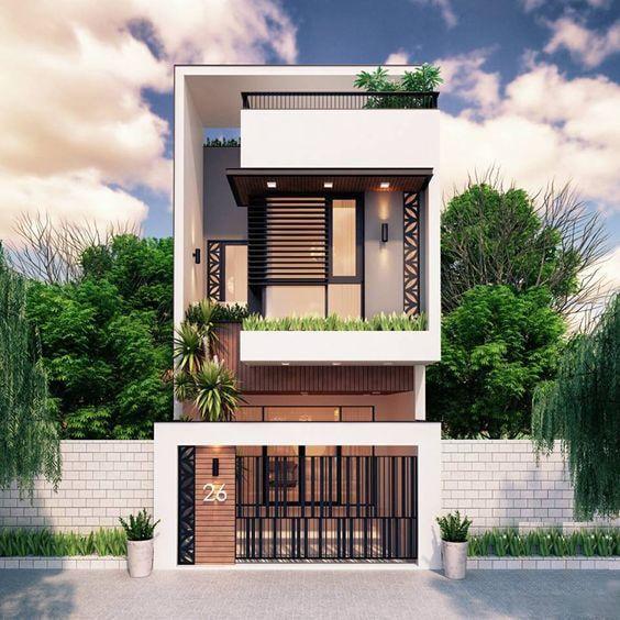 nha dep 2 tang nha ong 15 - #35 Mẫu nhà đẹp 2 tầng đẹp tuyển [chọn] ở TPHCM năm 2020