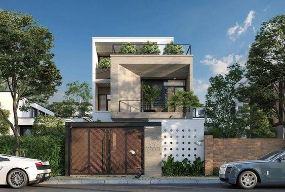 nha dep 2 tang nha ong 3 - #35 Mẫu nhà đẹp 2 tầng đẹp tuyển [chọn] ở TPHCM năm 2020