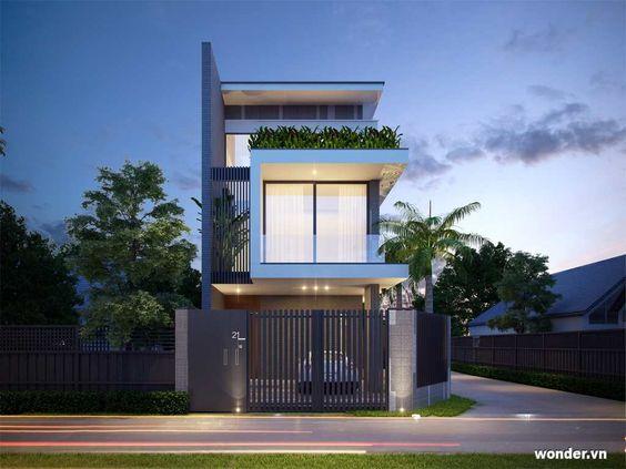 nha dep 2 tang nha ong 8 - #35 Mẫu nhà đẹp 2 tầng đẹp tuyển [chọn] ở TPHCM năm 2020