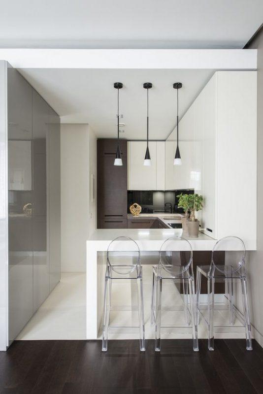 phong bep dep chung cu 3 534x800 - #45 Mẫu phòng bếp đẹp hiện đại được quan tâm nhất hiện nay