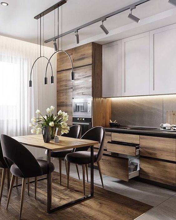 phong bep dep chung cu 6 - #45 Mẫu phòng bếp đẹp hiện đại được quan tâm nhất hiện nay