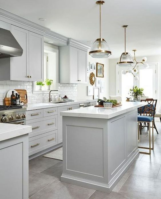 phong bep dep co dien 7 - #45 Mẫu phòng bếp đẹp hiện đại được quan tâm nhất hiện nay