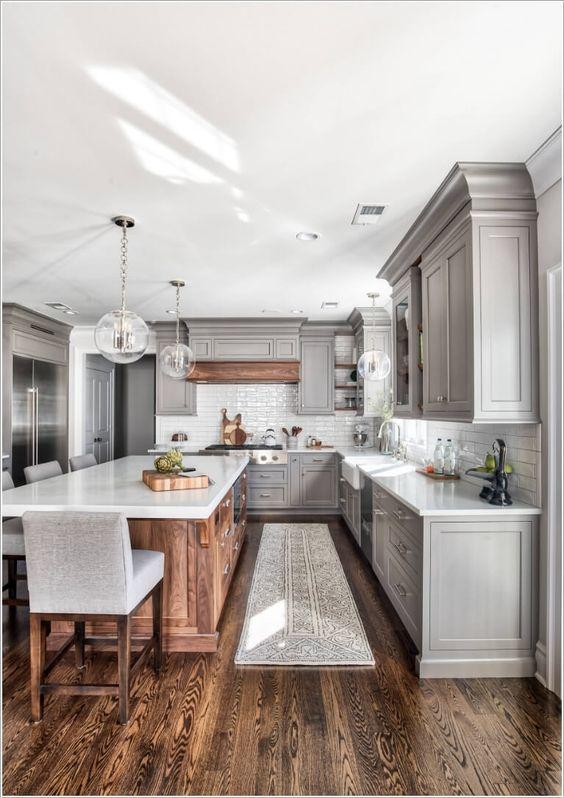 phong bep dep co dien 9 - #45 Mẫu phòng bếp đẹp hiện đại được quan tâm nhất hiện nay
