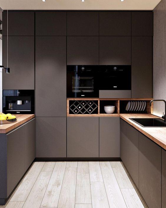 phong bep dep hien dai 14 - #45 Mẫu phòng bếp đẹp hiện đại được quan tâm nhất hiện nay
