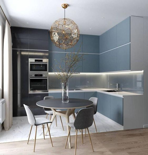 phong bep dep hien dai 15 - #45 Mẫu phòng bếp đẹp hiện đại được quan tâm nhất hiện nay