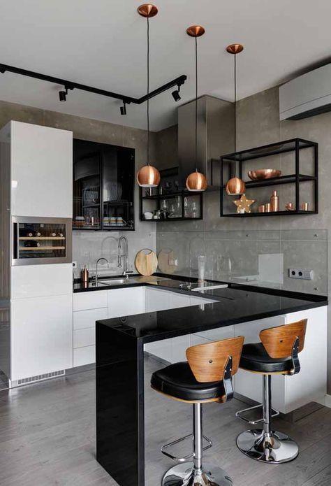 phong bep dep hien dai 8 - #45 Mẫu phòng bếp đẹp hiện đại được quan tâm nhất hiện nay