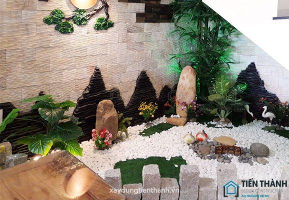 tieu canh cau thang dep 578x400 - #33 Mẫu tiểu cảnh cầu thang đẹp [trang trí] nhà ở năm 2021