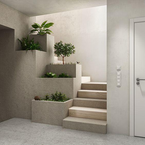 tieu canh cau thang kho 2 - #33 Mẫu tiểu cảnh cầu thang đẹp [trang trí] nhà ở năm 2021
