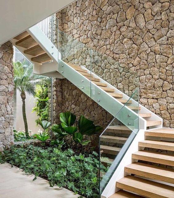 tieu canh cau thang rong 2 - #33 Mẫu tiểu cảnh cầu thang đẹp [trang trí] nhà ở năm 2021