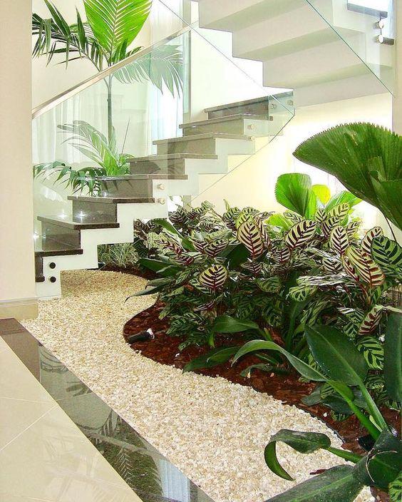 tieu canh cau thang rong 5 - #33 Mẫu tiểu cảnh cầu thang đẹp [trang trí] nhà ở năm 2021