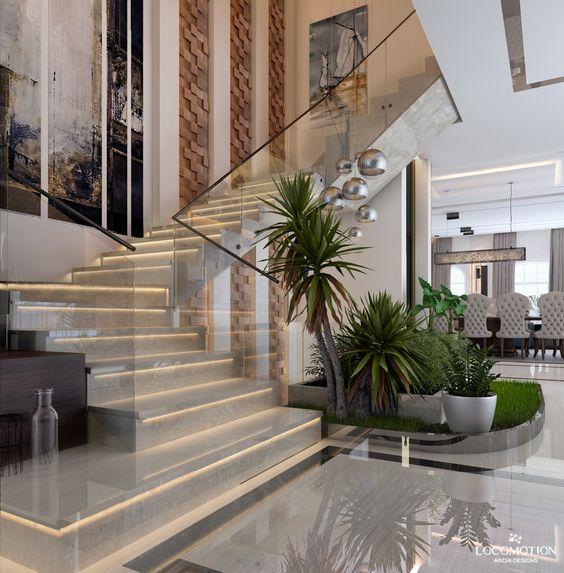 tieu canh cau thang soan oc 2 - #33 Mẫu tiểu cảnh cầu thang đẹp [trang trí] nhà ở năm 2021