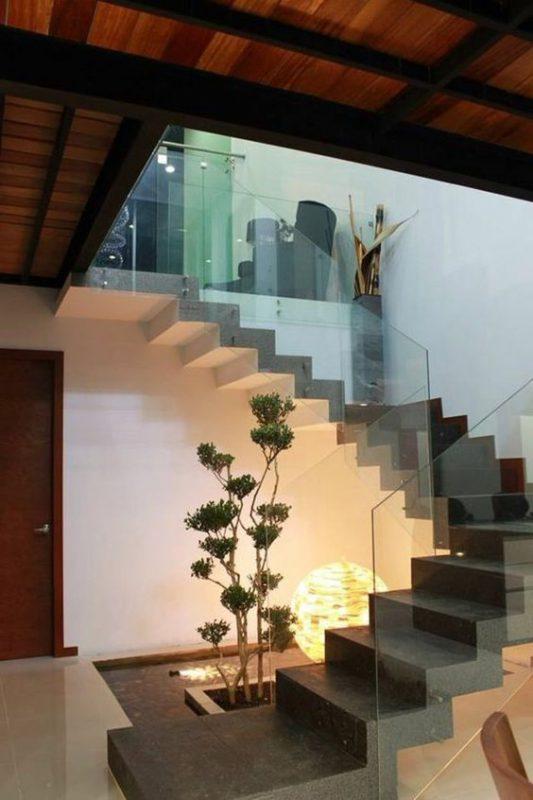 tieu canh cau thang soan oc 7 533x800 - #33 Mẫu tiểu cảnh cầu thang đẹp [trang trí] nhà ở năm 2021