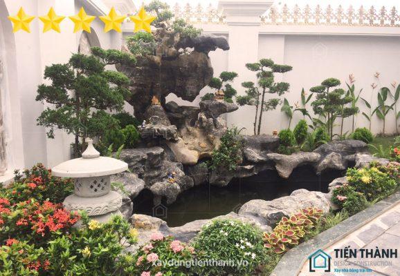 tieu canh san vuon 578x400 - #55 Mẫu tiểu cảnh sân vườn ĐẸP được [khao khát] nhất 2021