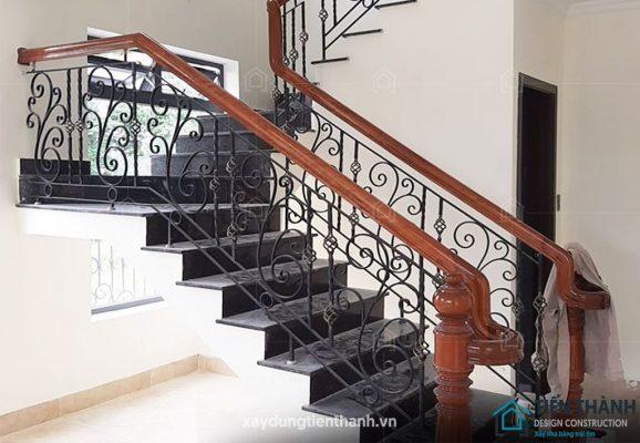 cau thang sat dep 578x400 - #55 Mẫu cầu thang sắt đẹp [thích hợp] không gian nhà ở.