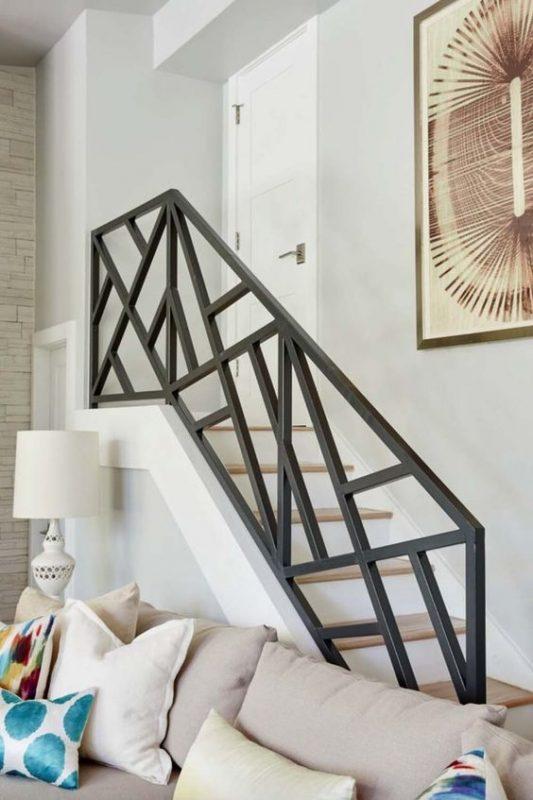 cau thang sat hop dep 11 533x800 - #55 Mẫu cầu thang sắt đẹp [thích hợp] mọi không gian nhà ở.