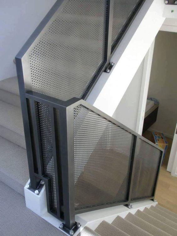 cau thang sat hop dep 12 - #55 Mẫu cầu thang sắt đẹp [thích hợp] mọi không gian nhà ở.