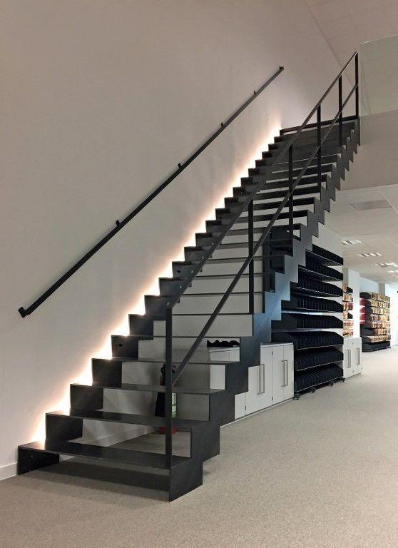 cau thang sat hop dep 4 - #55 Mẫu cầu thang sắt đẹp [thích hợp] mọi không gian nhà ở.