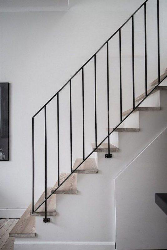 cau thang sat hop dep 8 534x800 - #55 Mẫu cầu thang sắt đẹp [thích hợp] mọi không gian nhà ở.