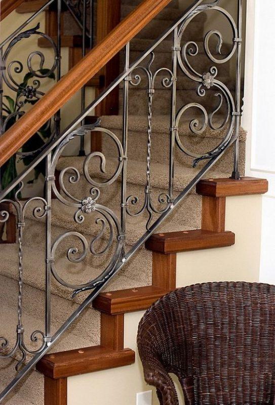 cau thang sat nghe thuat my thuat dep 1 543x800 - #55 Mẫu cầu thang sắt đẹp [thích hợp] không gian nhà ở.