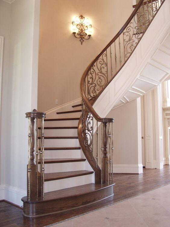 cau thang sat nghe thuat my thuat dep 3 - #55 Mẫu cầu thang sắt đẹp [thích hợp] mọi không gian nhà ở.