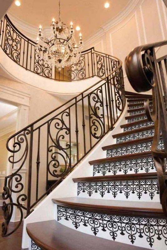 cau thang sat nghe thuat my thuat dep 4 534x800 - #55 Mẫu cầu thang sắt đẹp [thích hợp] không gian nhà ở.