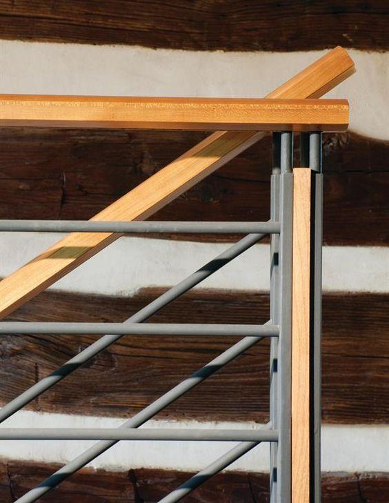cau thang sat tay vin go dep 11 - #55 Mẫu cầu thang sắt đẹp [thích hợp] mọi không gian nhà ở.
