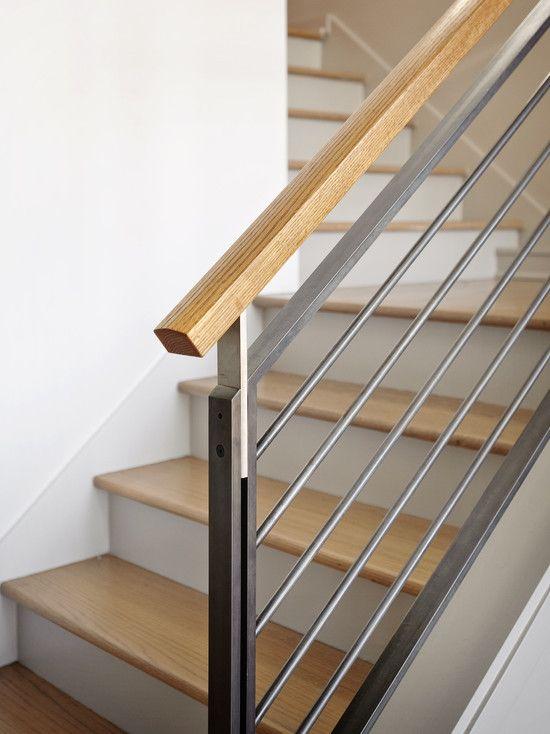 cau thang sat tay vin go dep 2 - #55 Mẫu cầu thang sắt đẹp [thích hợp] mọi không gian nhà ở.