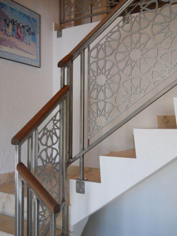 cau thang sat tay vin go dep 7 - #55 Mẫu cầu thang sắt đẹp [thích hợp] mọi không gian nhà ở.