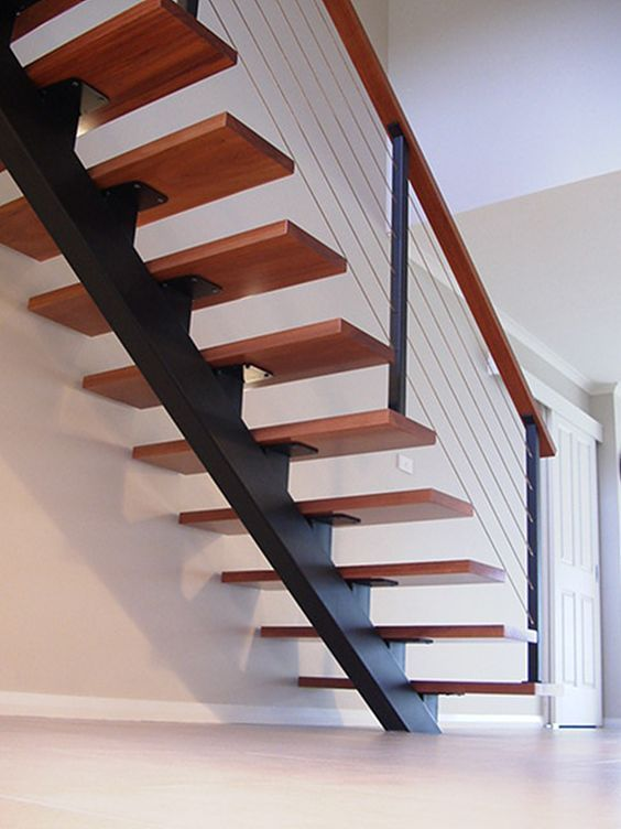 cau thang sat xuong ca dep 1 - #55 Mẫu cầu thang sắt đẹp [thích hợp] không gian nhà ở.