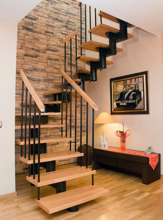 cau thang sat xuong ca dep 10 - #55 Mẫu cầu thang sắt đẹp [thích hợp] không gian nhà ở.