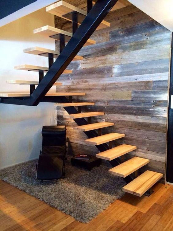 cau thang sat xuong ca dep 4 - #55 Mẫu cầu thang sắt đẹp [thích hợp] mọi không gian nhà ở.