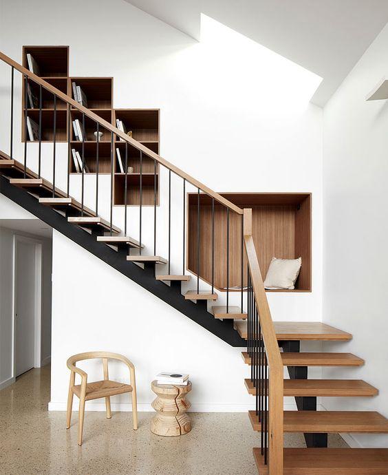 cau thang sat xuong ca dep 7 - #55 Mẫu cầu thang sắt đẹp [thích hợp] mọi không gian nhà ở.