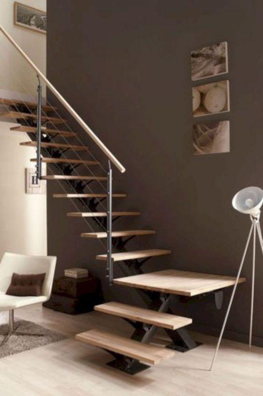 cau thang sat xuong ca dep 8 532x800 - #55 Mẫu cầu thang sắt đẹp [thích hợp] không gian nhà ở.