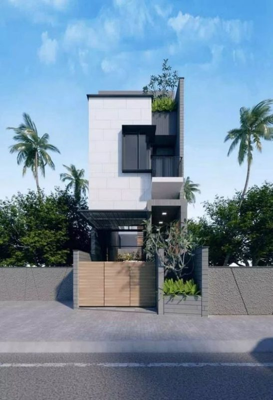 mau nha 3 tang dep hien dai 1 547x800 - #35 mẫu nhà 3 tầng đẹp khát khao nhất tại TPHCM năm 2020
