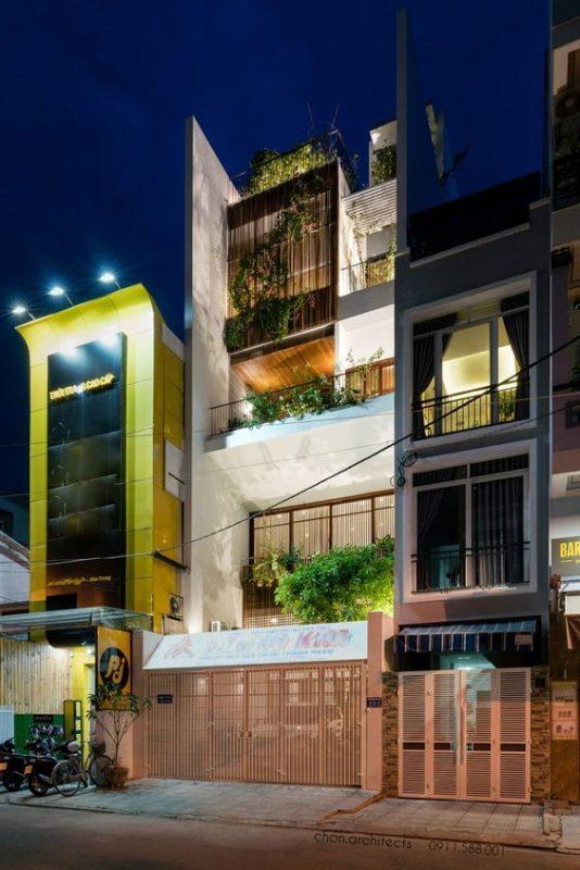 mau nha 3 tang dep hien dai 3 534x800 - #35 mẫu nhà 3 tầng đẹp khát khao nhất tại TPHCM năm 2020