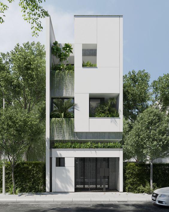 mau nha 3 tang dep nha ong 2 - #35 mẫu nhà 3 tầng đẹp khát khao nhất tại TPHCM năm 2020