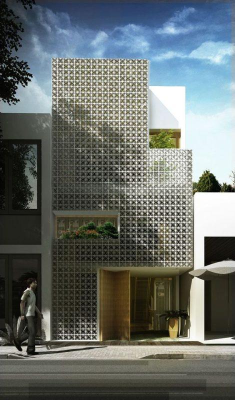 mau nha 3 tang dep nha ong 3 470x800 - #35 mẫu nhà 3 tầng đẹp khát khao nhất tại TPHCM năm 2020