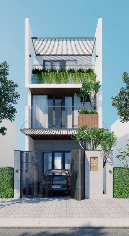 mau nha 3 tang dep nha ong 4 - #35 mẫu nhà 3 tầng đẹp khát khao nhất tại TPHCM năm 2020