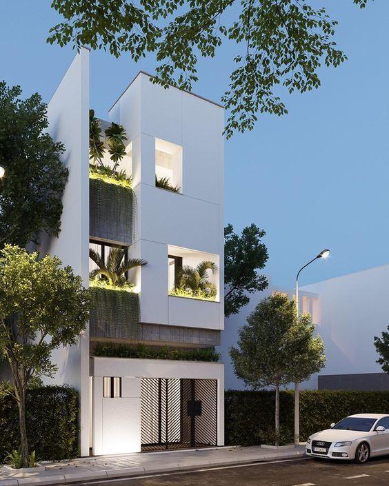 mau nha 3 tang dep nha ong 7 - #35 mẫu nhà 3 tầng đẹp khát khao nhất tại TPHCM năm 2020