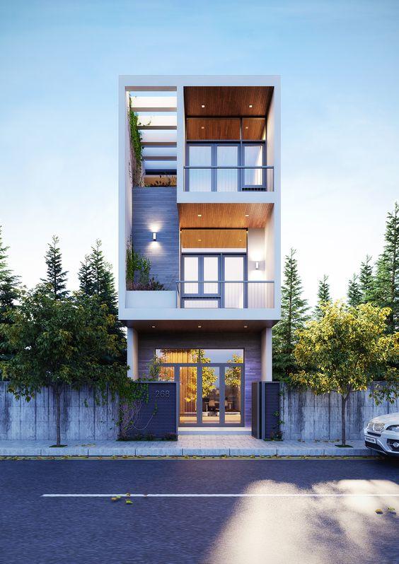 mau nha 3 tang dep nha ong 9 - #35 mẫu nhà 3 tầng đẹp khát khao nhất tại TPHCM năm 2020