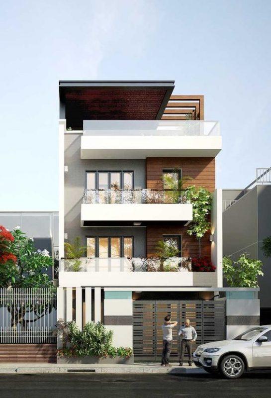 mau son nha dep mat tien 1 545x800 - Những màu sơn nhà đẹp nhất 2020 và cách phối màu ĐẸP