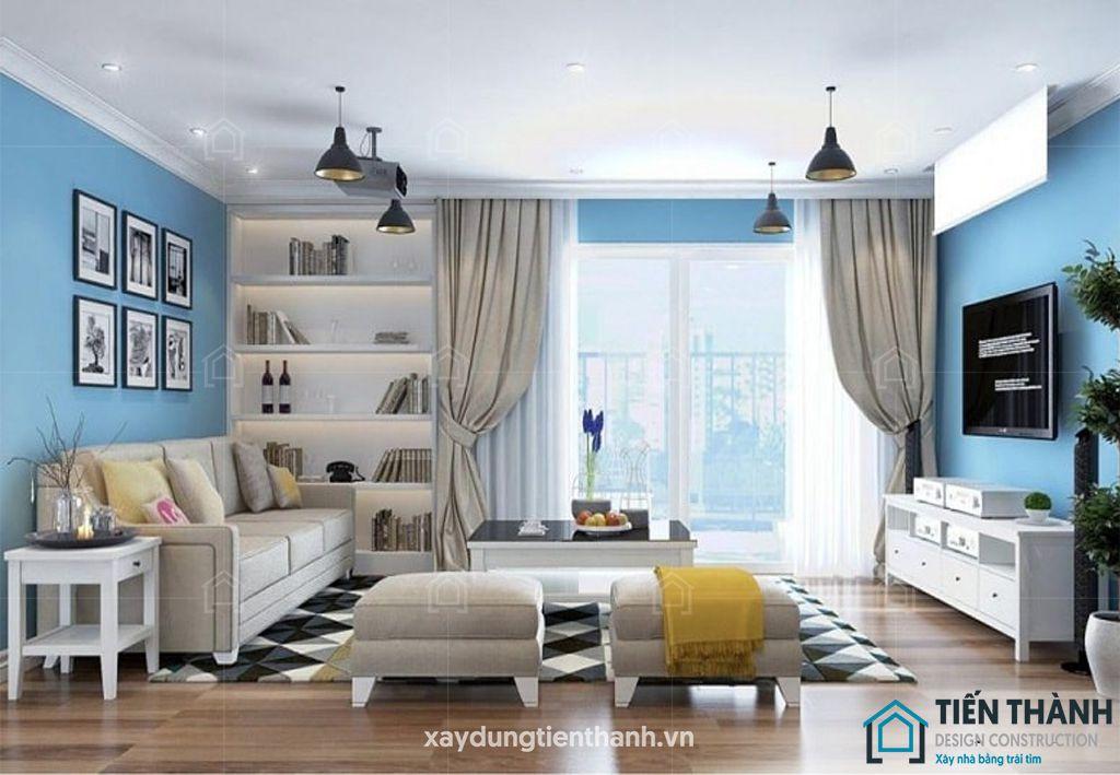 mau son nha dep mau xanh 1 - Những màu sơn nhà đẹp nhất 2020 và cách phối màu ĐẸP